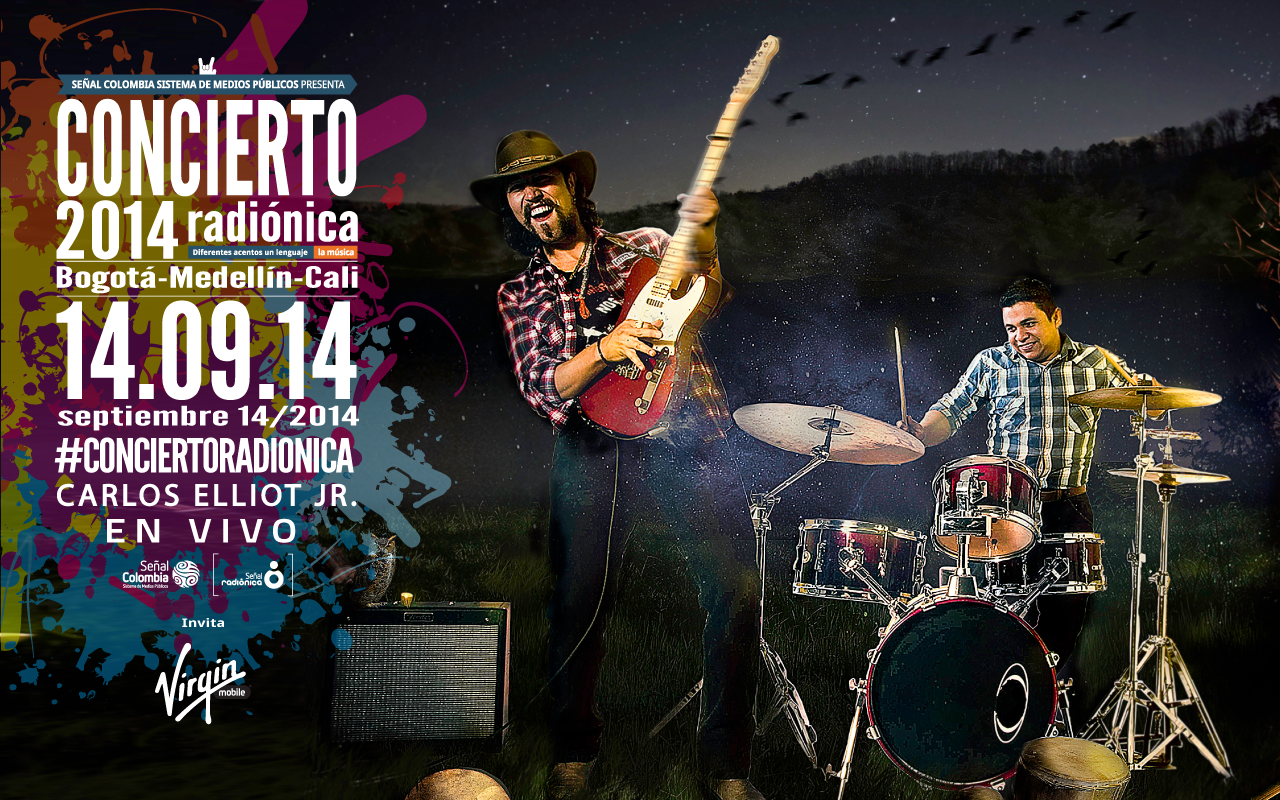concierto radionica 2014 carlos elliot jr cornlickers big jack johnson blues colombia colombiano