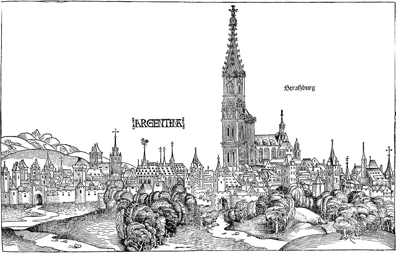Ilustración de Estrasburgo del siglo XV