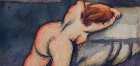 Obra de Débora Arango. Foto tomada de: Museo Nacional de Colombia
