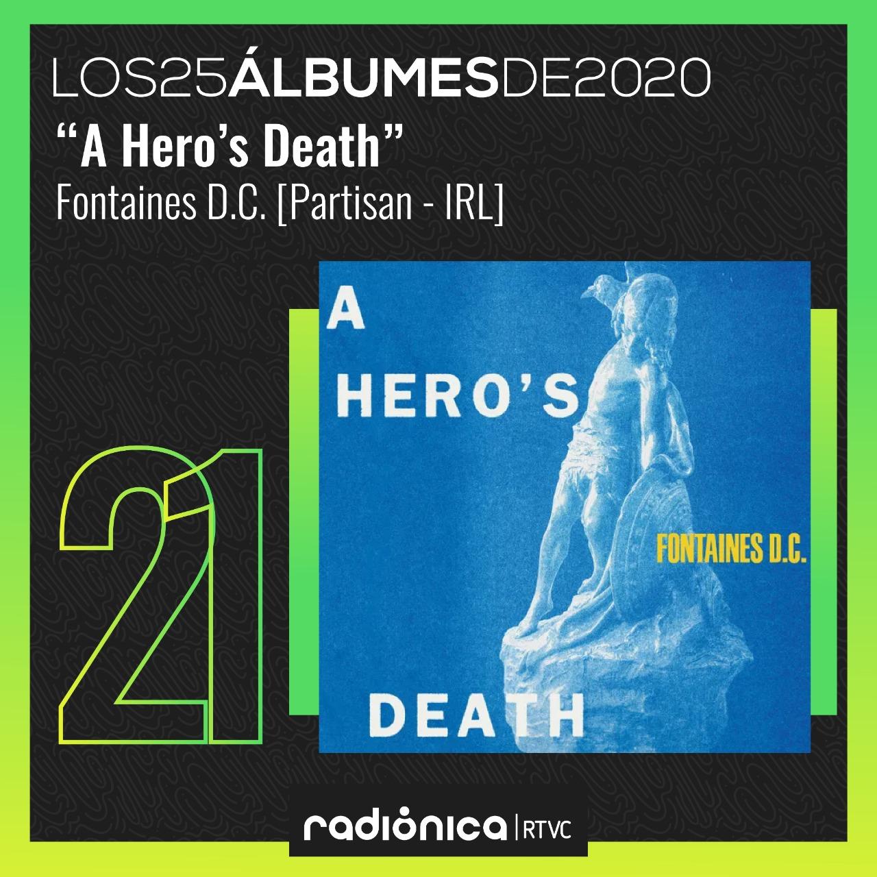 A Hero's Death (2020) de Fontaines D.C.