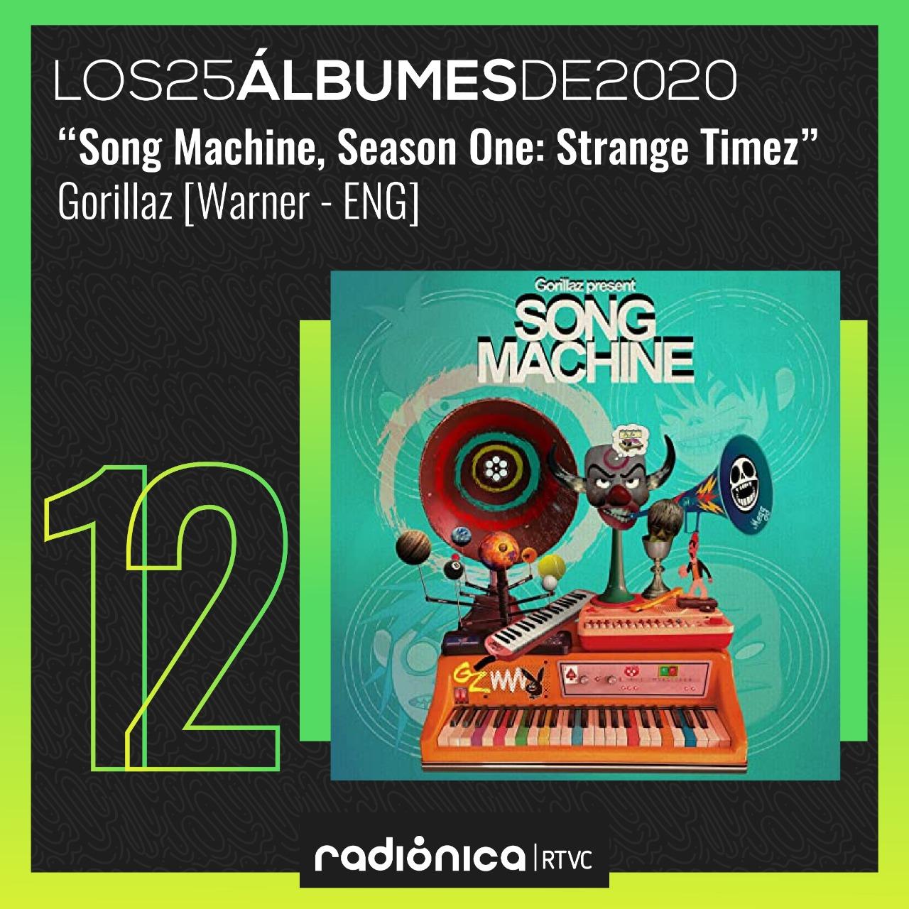 Gorillaz  Song Machine, Season One: Strange Timez