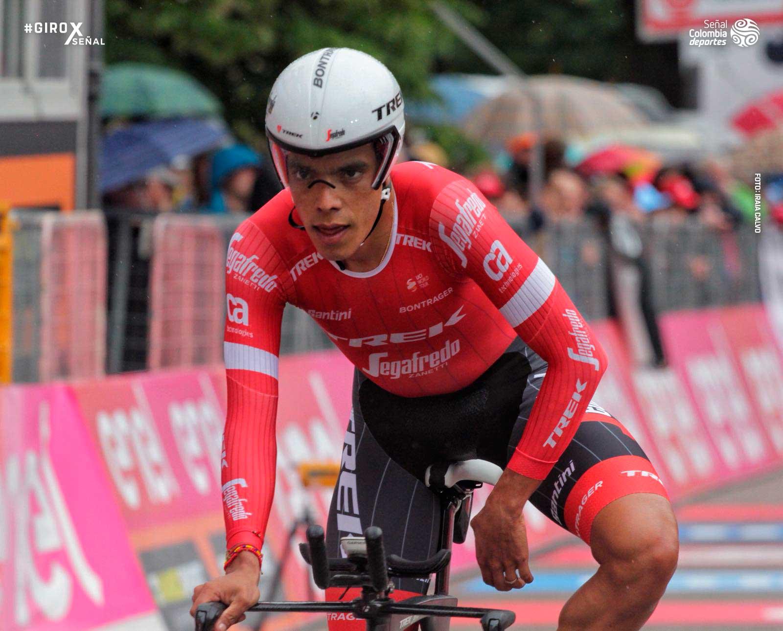 Jarlinson Pantano, ciclista colombiano. Foto: Señal Colombia.