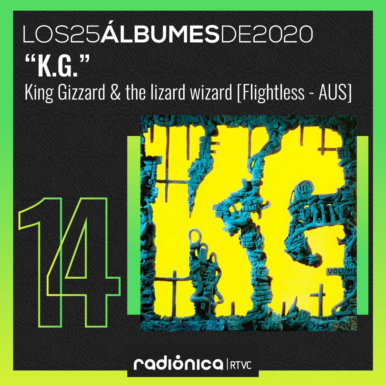 KG de King Gizzard and the Lizzard Wizard