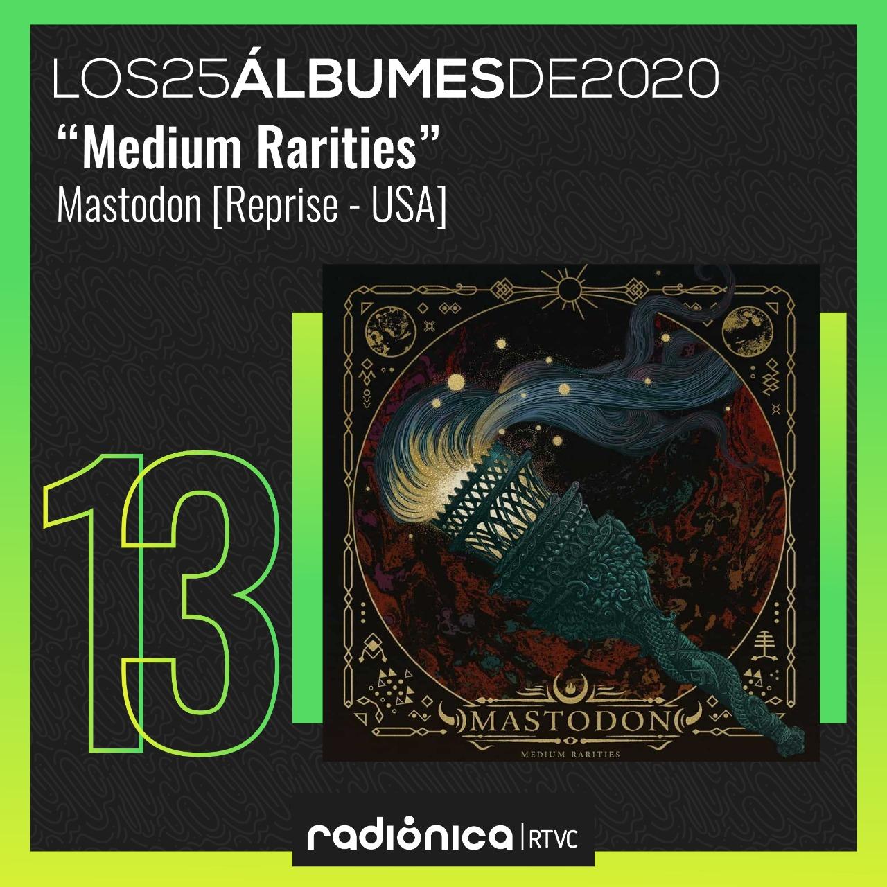 Medium Rarities de Mastodon