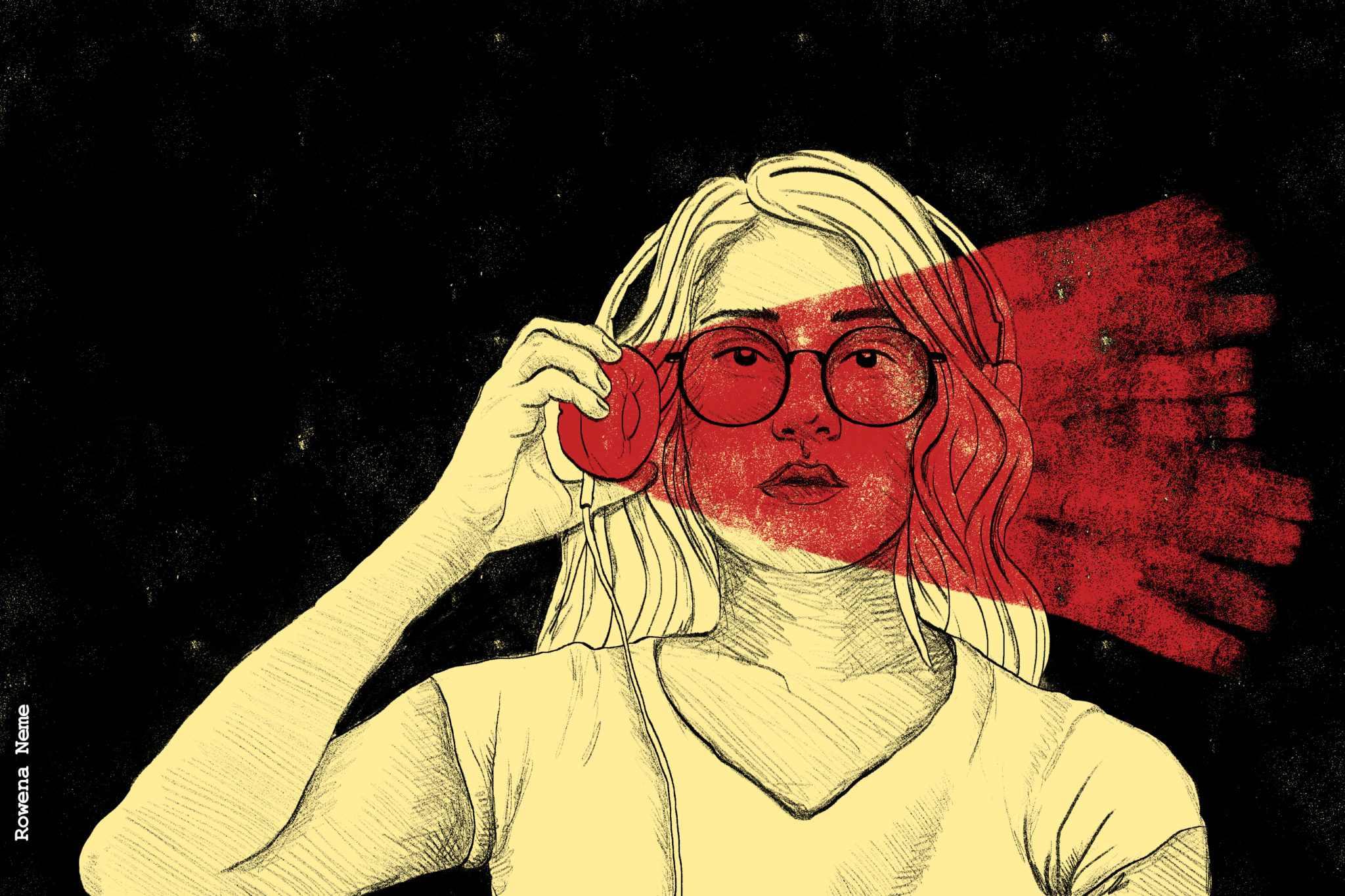 Ilustración por Rowena Neme