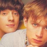 Graham Coxon y Damon Albarn en Blur