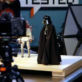 Proceso de animación de Star Wars. Imagen tomada de YouTube.
