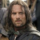Viggo Mortensen como Aragorn en la trilogía El Señor de los Anillos.