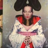 Los discos Post, Homogenic y Debut de Bjork.