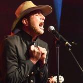 Daniel Guitérrez, cantante de Chimó Psicodélico. Foto de Créditos: Bogotá Music Market – BOmm - Cámara de Comercio de Bogotá 2017.
