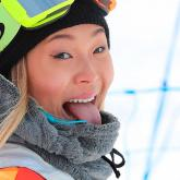 Chloe Kim, oro en snowbording en los Olímpicos de Invierno 2018. Foto de Mike Blake de Reuters.