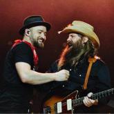 Justin Timberlake y Chris Stapleton / Foto Andy Barron/Chris Stapleton/Instagram