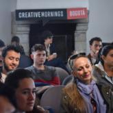 Creative Mornings Bogotá.