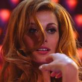 Sveva Alviti, actriz italiana que interpreta a Dalida.