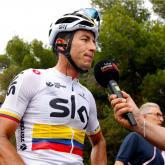 Sergio Luis Henao, ciclista colombiano. Foto: Colprensa.