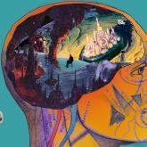 Arte del EP Apariciones creado por Jesús Ballesteros