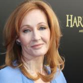 J.K. Rowling. Foto de Bruce Glikas para Film Magic.