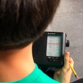 Taller de radio para niños 'Juguemos a la radio' en Medellín.