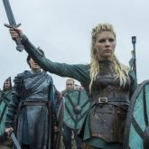 Lagertha de Vikings.