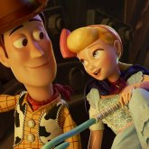 Bo Beep y Woody. Toy Story 4.