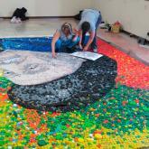Embajadores del Arte, gestores del 'Tapita Project'.