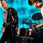 Radiohead en vivo. Foto de Jim Dyson / Getty Images.