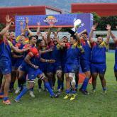 Fotos tomadas de la Federación Colombiana de Rugby.
