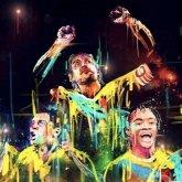 Fútbol y arte en las manos de Paola Garrido