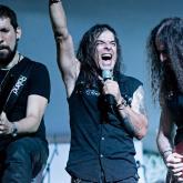 Krönös, agrupación de metal caleña. Foto cortesía de Malagana Rock, Arte Vivo y Dektol