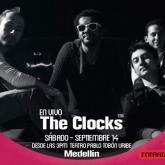 """""""Antes del concierto hay una tensión muy agradable"""" Édgar Ríos de The Clocks"""