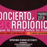 Bogotá: reclamen sus entradas del Concierto Radiónica 2013