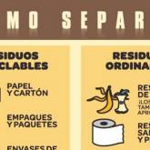 ¿Cómo separar las basuras?