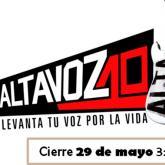 Cierre de convocatorias para Altavoz 2013