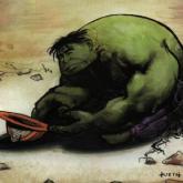 Hulk salió por la puerta