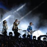 Arcade Fire en vivo. Foto tomada de Loud.cl