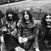 Los miembros fundadores de Black Sabbath: Bill Ward, Tony Iommi, Ozzy Osbourne y Geezer Butler.