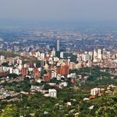 Vista panorámica de Santiago de Cali.
