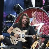 Dave Grohl fue a ver a Axl Rose en su 'Trono del rock'
