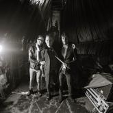 Foto de Andrés Alvarado el 10 de marzo de 2016 junto a los Rolling Stones en el Estadio El Campín