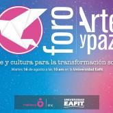 """Sigan acá la transmisión del foro """"Arte y cultura para la transformación social"""""""