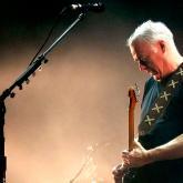 David Gilmour sube a un escenario después de 4 años
