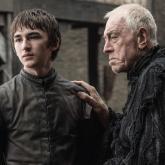 Bran Stark y 'el cuervo de tres ojos'.