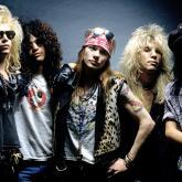 Axl Rose, Izzy Stradlin, Slash, Duff McKagan, Steven Adler.
