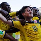 James Rodríguez, Selección Colombia. Brasil 2014.