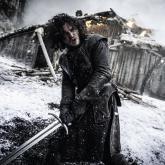 Jon Snow interpretado por el actor británico Kit Harington.