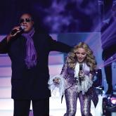 Madonna y Stevie Wonder homenajean a Prince