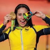 Mariana Pajón. Campeona olímpica 2016. Foto: Colprensa.