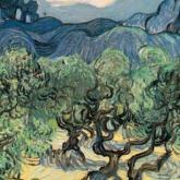 'Los olivos' (1889) de Van Gogh es uno de los cuadros buscados.