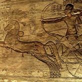 Ramsés II en la batalla de Kasesh  egiptologia20.es