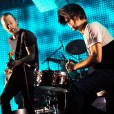 Radiohead en vivo. Foto de Jim Dyson / Getty Images.